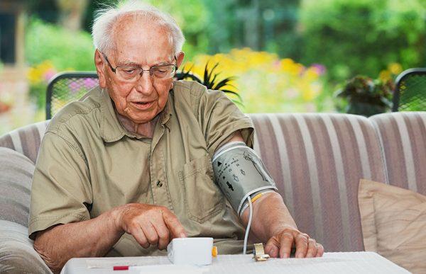 Blutdruckmesser für Zuhause