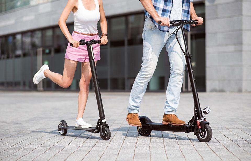 Smart durch die Stadt mit E-Scooter
